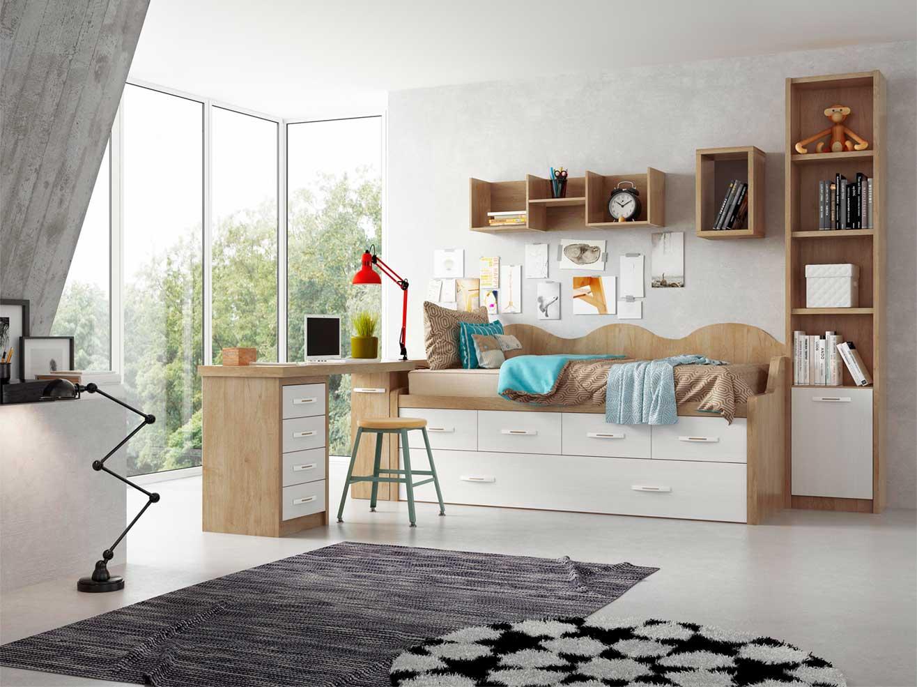 fotografo muebles 3D dormitorio