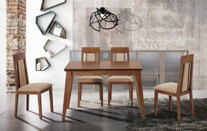 Fotografía de muebles. Comedor